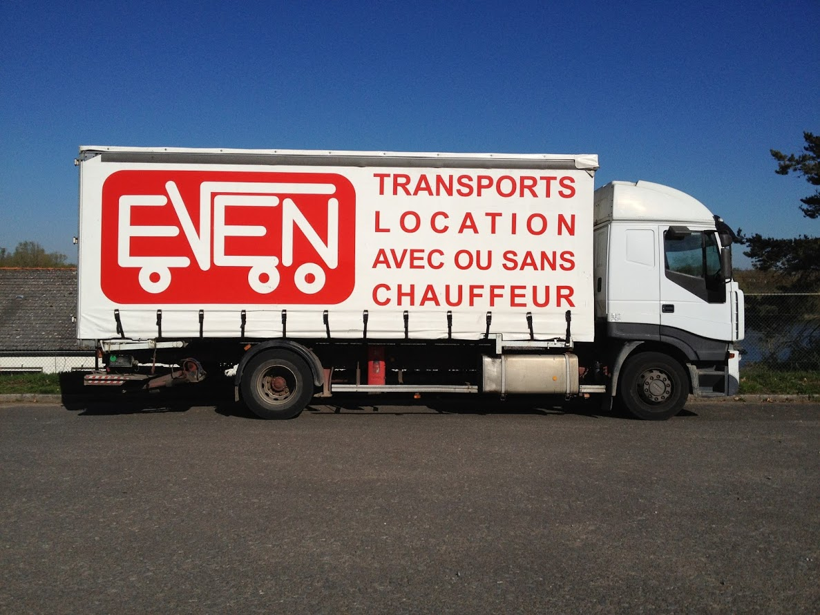Camion fourgon 50m3 ptc 19t ptr 40t even - Location camion angers ...